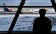 Пассажир в аэропорту. Архивное фото