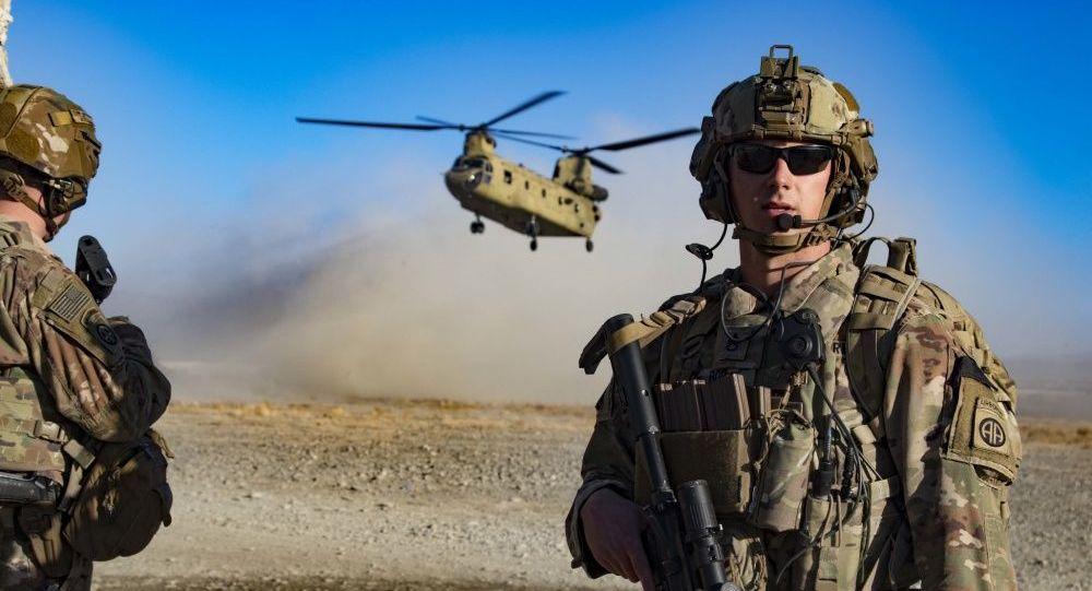 Американские военные на юго-востоке Афганистана. Архивное фото