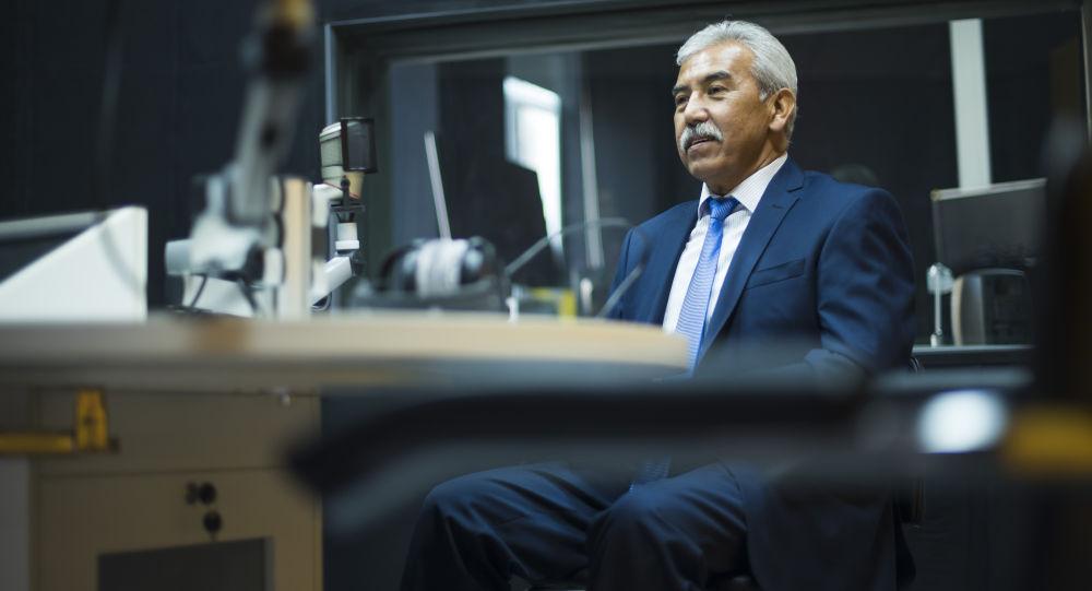 Кыргызстандын башкы балдар хирургу Талант Өмүрбеков. Архив