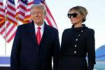 Президент Дональд Трамп и первая леди Мелания Трамп