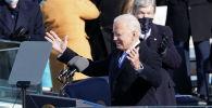 Президент Джо Байден во время своей инаугурации