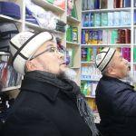 Кыргызстан мусулмандарынын Аалымдар кеңешинин мүчөсү катары Ош шаарындагы диний китеп дүкөндөргө барган кези