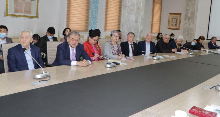 21 января состоялась презентация книги Мой отец как государственный деятель в Национальной библиотеке имени Алыкула Осмонова