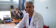 Балдар кардиологиясы бөлүмүнүн жетекчиси, медицина илимдеринин кандидаты Самидин Шабыралиев
