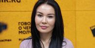 Исполняющая обязанности заместителя председателя Ассоциации хлебопекарей КР Бактыгуль Магонбетова на радио Sputnik Кыргызстан