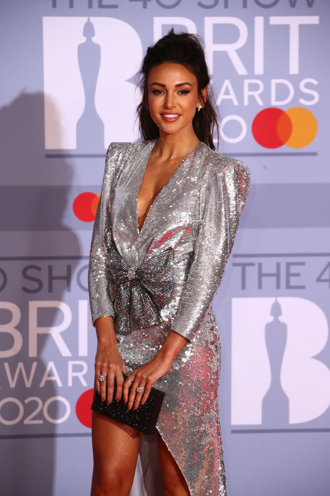 Актриса Мишель Киган на Brit Awards 2020 в Лондоне