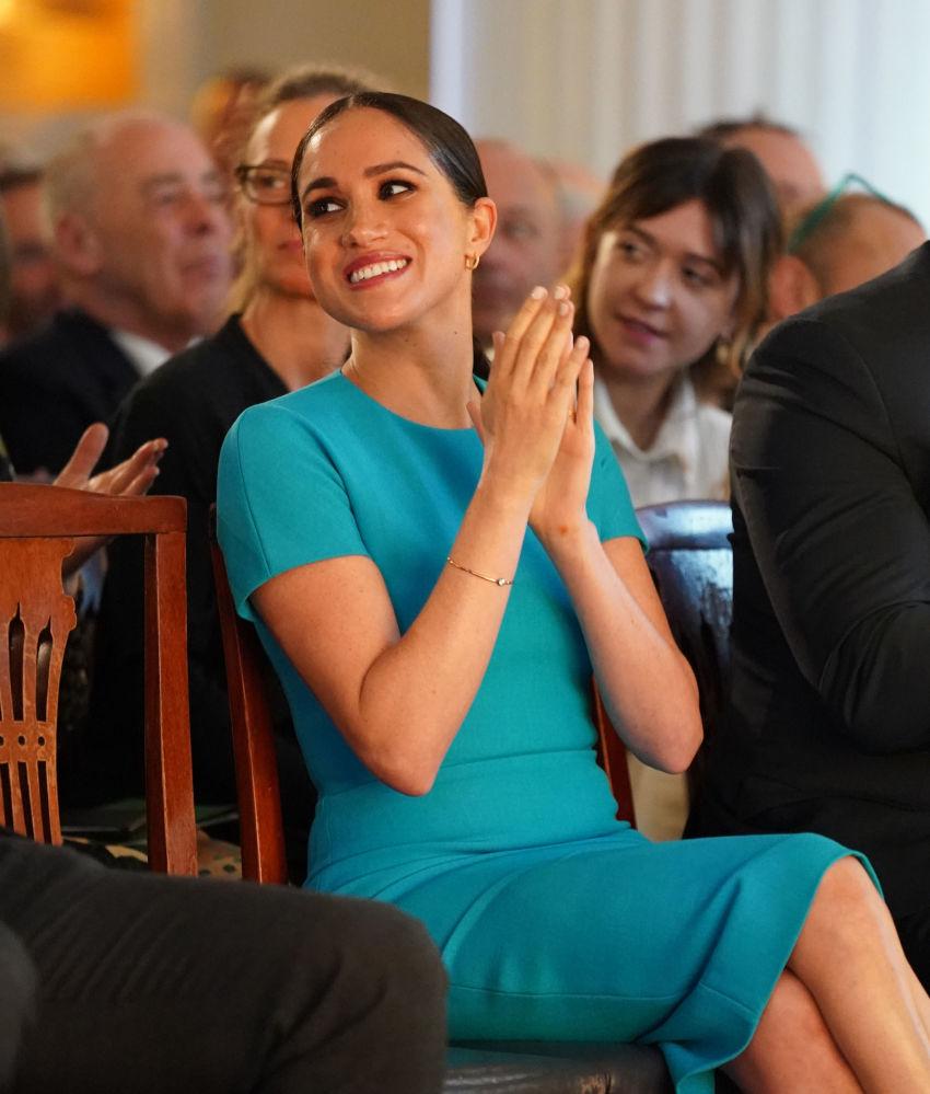 Меган (Маркл), герцогиня Сассекская, на церемонии вручения наград Endeavour Fund Awards в Лондоне