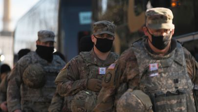 Улуттук гвардиянын аскерлери