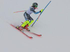 Лыжа спортсчу турнир учурунда