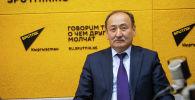 Саламаттык сактоо жана социалдык өнүктүрүү министри Алымкадыр Бейшеналиев. Архив