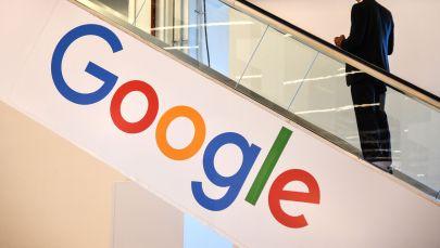 Логотип компании Google. Архивное фото
