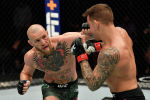 Американский боец UFC Дастин Порье во время боя с Конором Макгрегором. Архивное фото