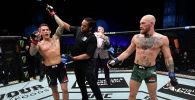 Экс-чемпион UFC в двух дивизионах Конор Макгрегор и его соперник Дастин Порье