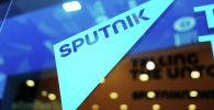 Логотип агентства Sputnik. Архивное фото