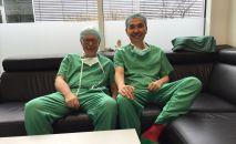 Эссен университеттик клиникасында иштеген кыргызстандык хирург Азим Шайбеков