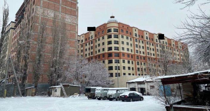 Незаконное строительство многоэтажных домов в Бишкеке