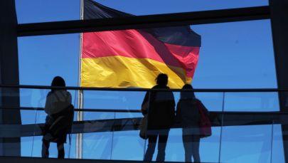 Посетители на смотровой площадке Рейхстага. Архивное фото