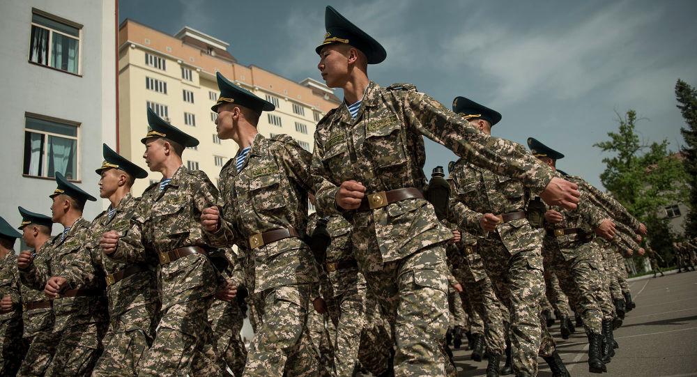 Улуттук гвардиянын маршы. Архив