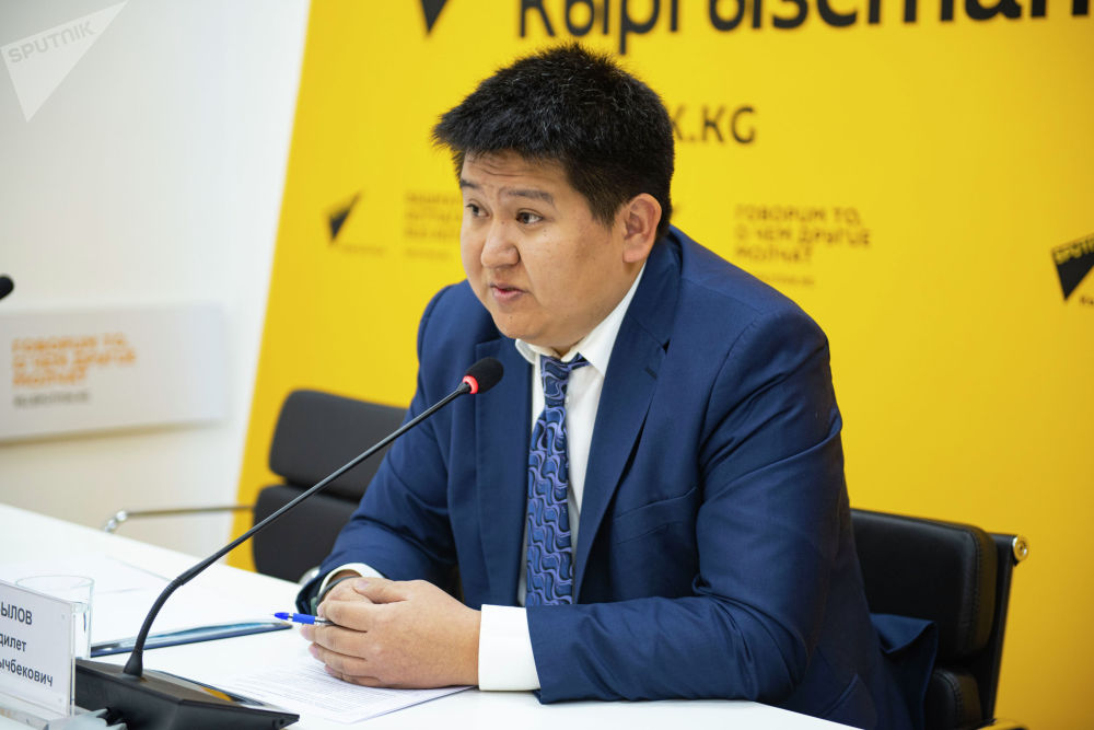 Директор муниципального предприятия Центр цифровых технологий Адилет Абылов