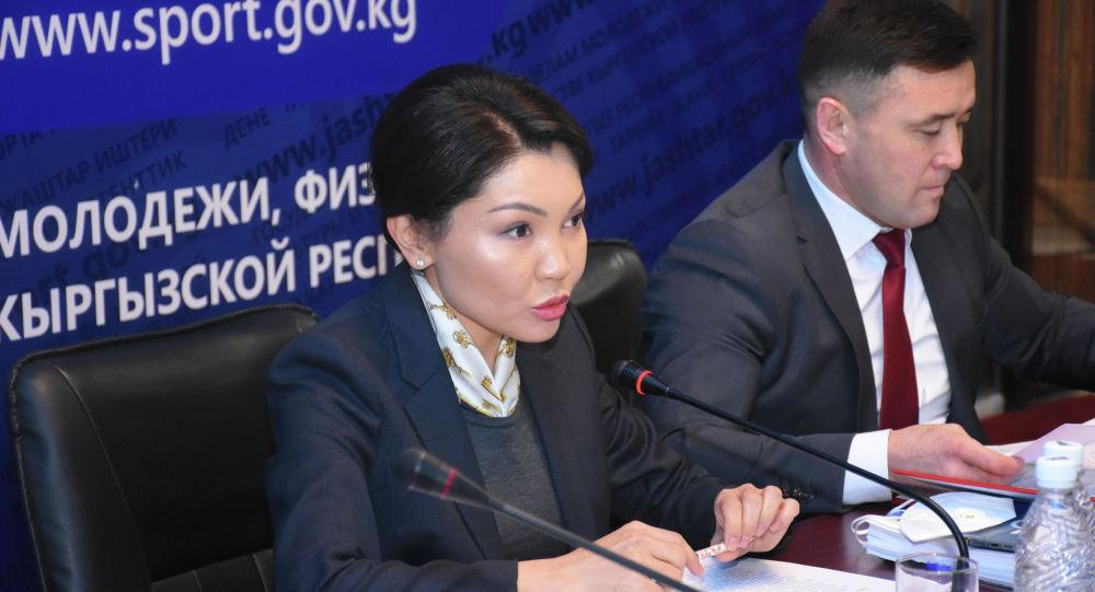 Вице-премьердин милдетин аткаруучу Эльвира Сурабалдиева