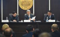 И.о. вице-премьер-министра Максат Мамытканов провел совещание с личным составом Госслужбы по борьбе с экономическими преступлениями