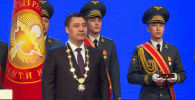 Сегодня, 28 января, Садыр Жапаров вступил в должность президента Кыргызстана. На инаугурации он произнес первую речь в качестве главы государства.