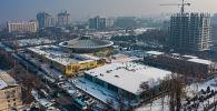 Возле цирка в центре Бишкека построят два объекта — высотное здание и торгово-развлекательный центр.