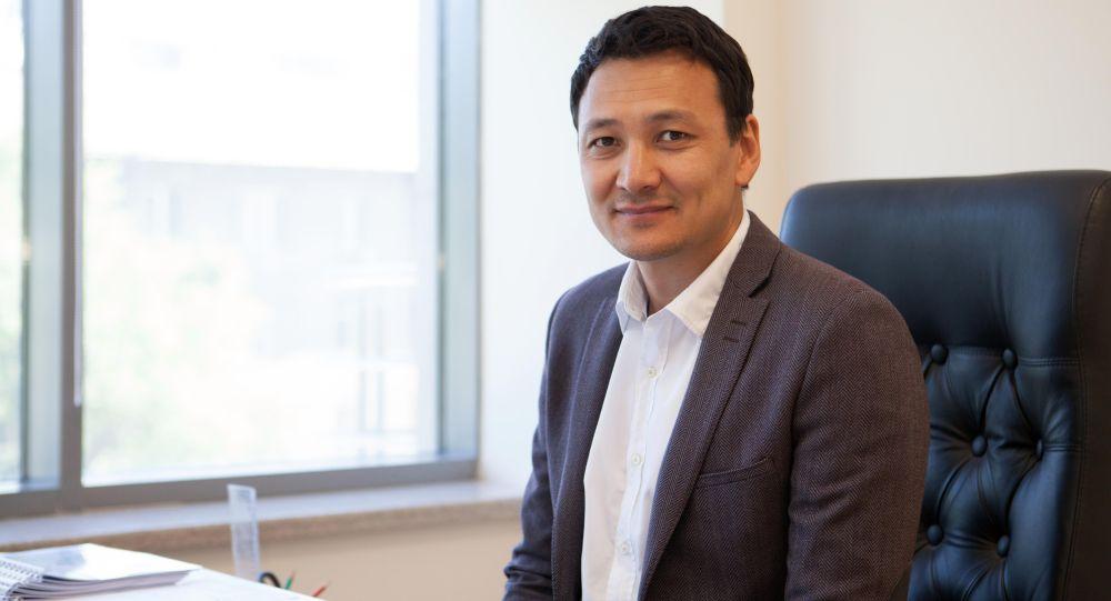 Кыргызстандын президенттигине мурунку талапкер Аймен Касенов. Архив