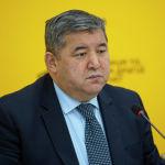 Заместитель министра сельского хозяйства, пищевой промышленности и мелиорации Жаныбек Керималиев