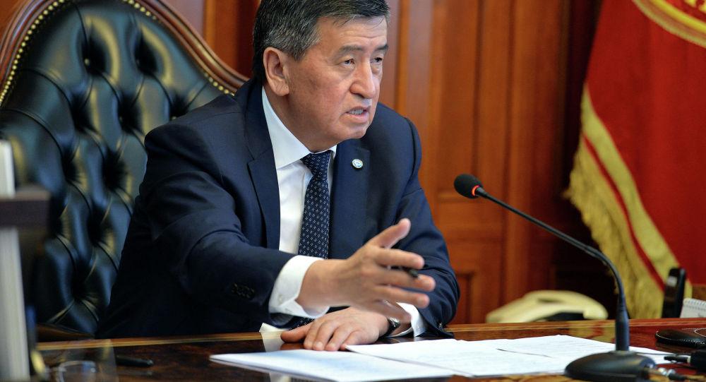 Экс-президент КР Сооронбай Жээнбеков. Архивное фото
