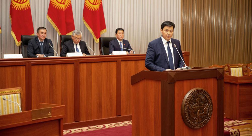 Премьер-министликке талапкер Улукбек Марипов