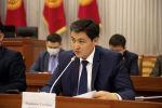 Кандидат на пост премьер-министра Улукбек Марипов