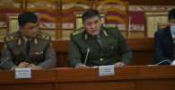 УКМКнын жетекчиси Камчыбек Ташиев парламенттин жыйынында
