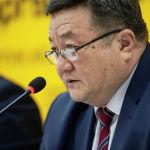 Директор Департамента по экспертизе сельскохозяйственных культур министерства Таалайбек Айдаралиев