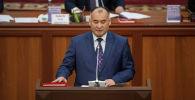 Энергетика жана өнөр жай министри Кубанычбек Турдубаев. Архив