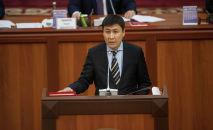 Бывший министр образования и науки Алмазбек Бейшеналиев. Архивное фото