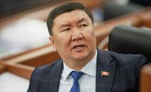Депутат Бактыбек Райымкулов. Архив