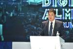Премьер-министр Улукбек Марипов Алматы шаарында өтүп жаткан санариптик форумунда