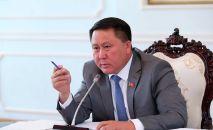 Генеральный прокурор КР Курманкул Зулушев. Архивное фото