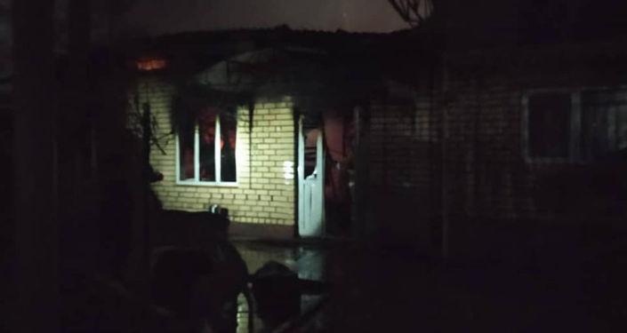 В кафе Алма-Ата на объездной дороге произошел пожар