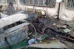 """Бишкек шаарындагы """"Миң түркүн"""" соода борбору жайгашкан имараттагы Fiх Рrice дүкөнүндө өрт чыкты."""