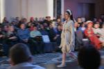 Модель на подиуме во время Недели моды Burana Fashion Week 2021 в Бишкеке. 6 февраля 2021 года