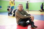 Кыргызстандын Олимпиадалык категориядагы калысы Мейрамбек Ахметов. Архив