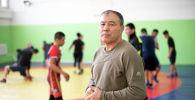 Заслуженный тренер КР по греко-римской борьбе Мейрамбек Ахметов