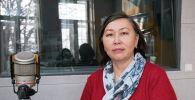 Ден соолукту чыңдоо жана массалык коммуникация республикалык борборунун дарыгери, пульмонолог Анара Калиева