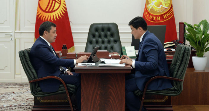 Президент Садыр Жапаров премьер-министр Улукбек Марипов менен жолугушту