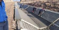 Баткен облусунун аймагында төрт ири суу чарба объектилеринин курулушу жүрүп жатат