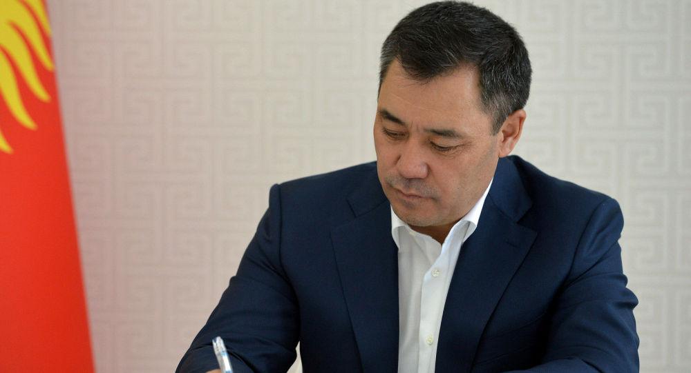 Исполняющий обязанности Президента, Премьер-министр Кыргызской Республики Садыр Жапаров