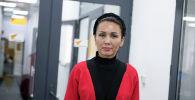 Балдарды коргоо борборунун социалдык кызматкери, Илимдеги кыздар долбоорунун координатору Айнура Эмирканова