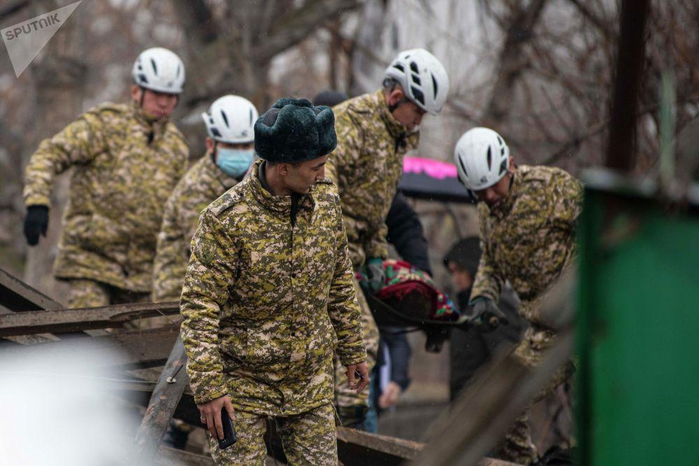 Некоторые бишкекчане говорят, что взрыв был слышен даже в городе